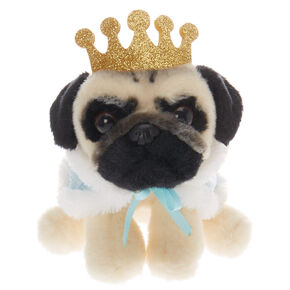 Doug the Pug™ Small Prince Doug Plush Toy – Baby Blue,