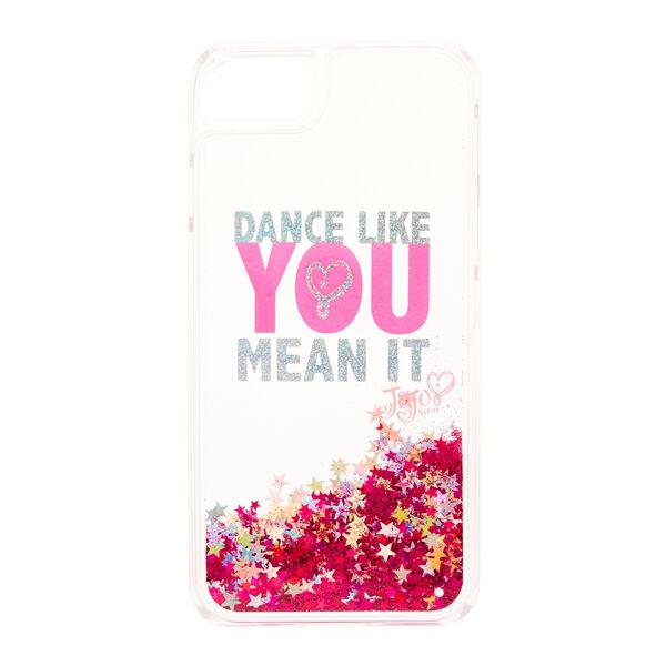 Claire's - jojo siwa™ dance like you mean it glitter phone case - 2