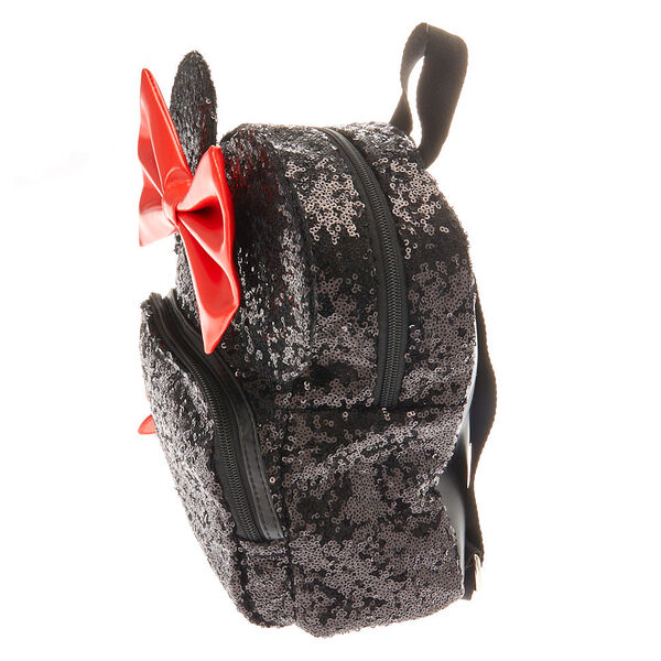 Claire's - disney© minnie mouse sequinned midi backpack - 2