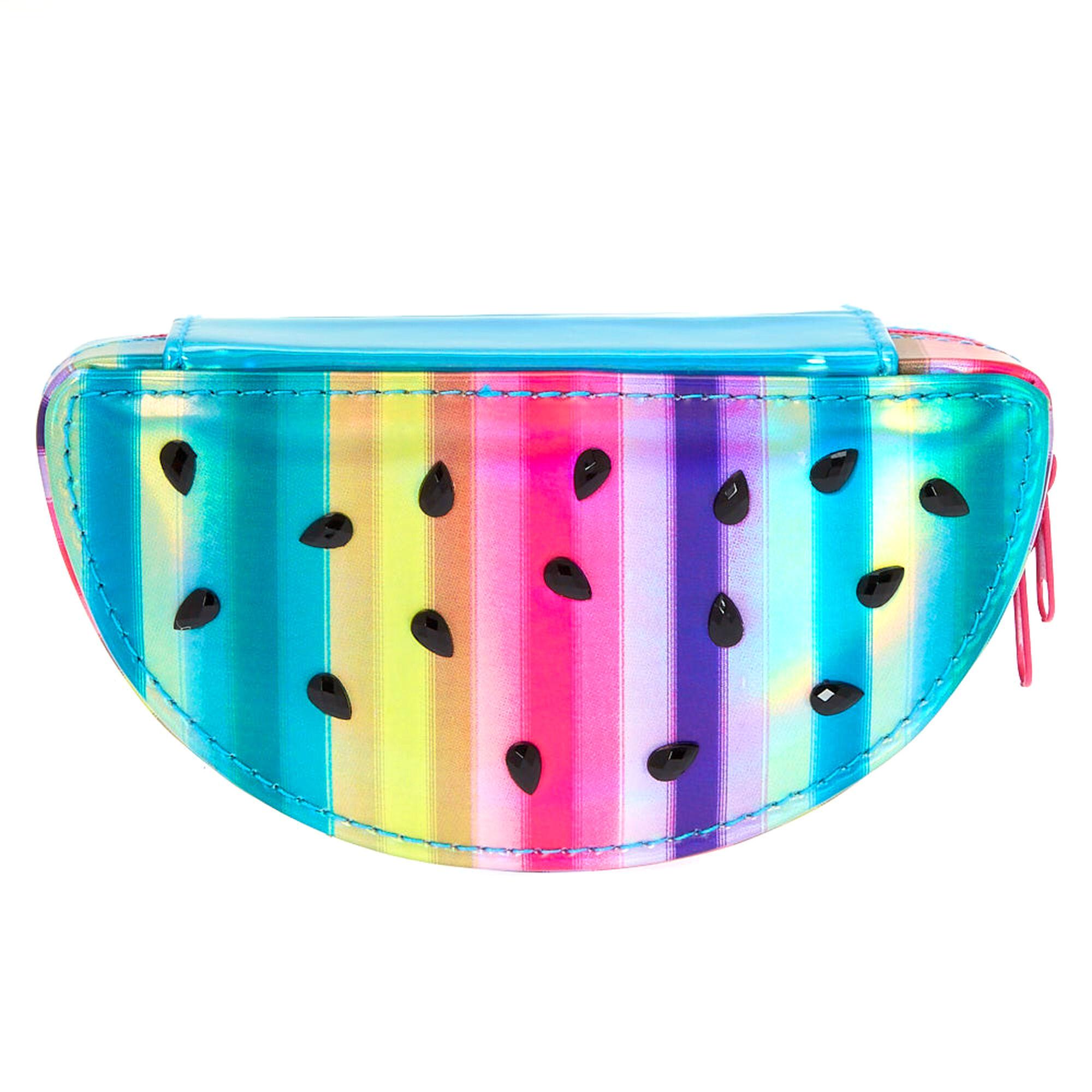 Rainbow Watermelon Travel Jewellery Case