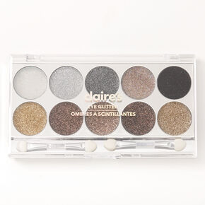 Neutral Glitz Glitter Eyeshadow Palette,