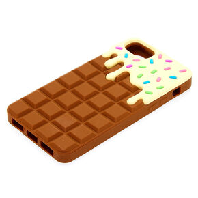 Chocolate Bar Silicone Phone Case - Fits iPhone 6/7/8/SE,