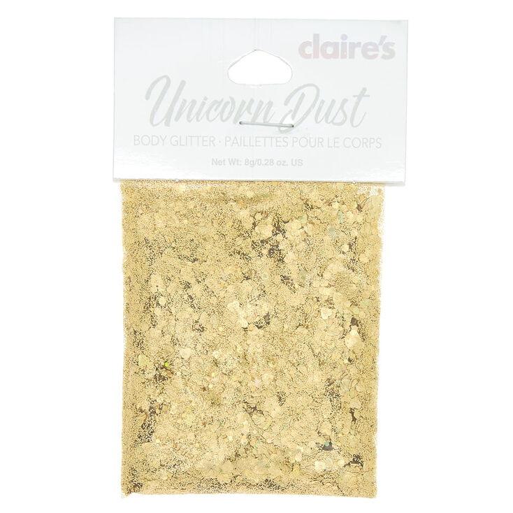 Unicorn Dust Body Glitter - Gold | Claire\'s US