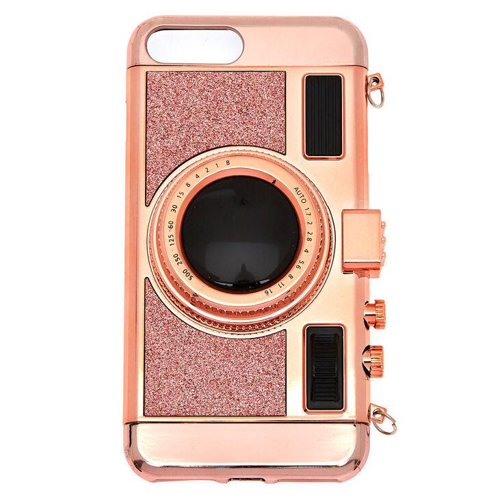 Retro Camera Phone Case Rose Gold Claire S Us
