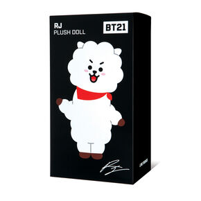 BT21© RJ Medium Plush Doll – White,