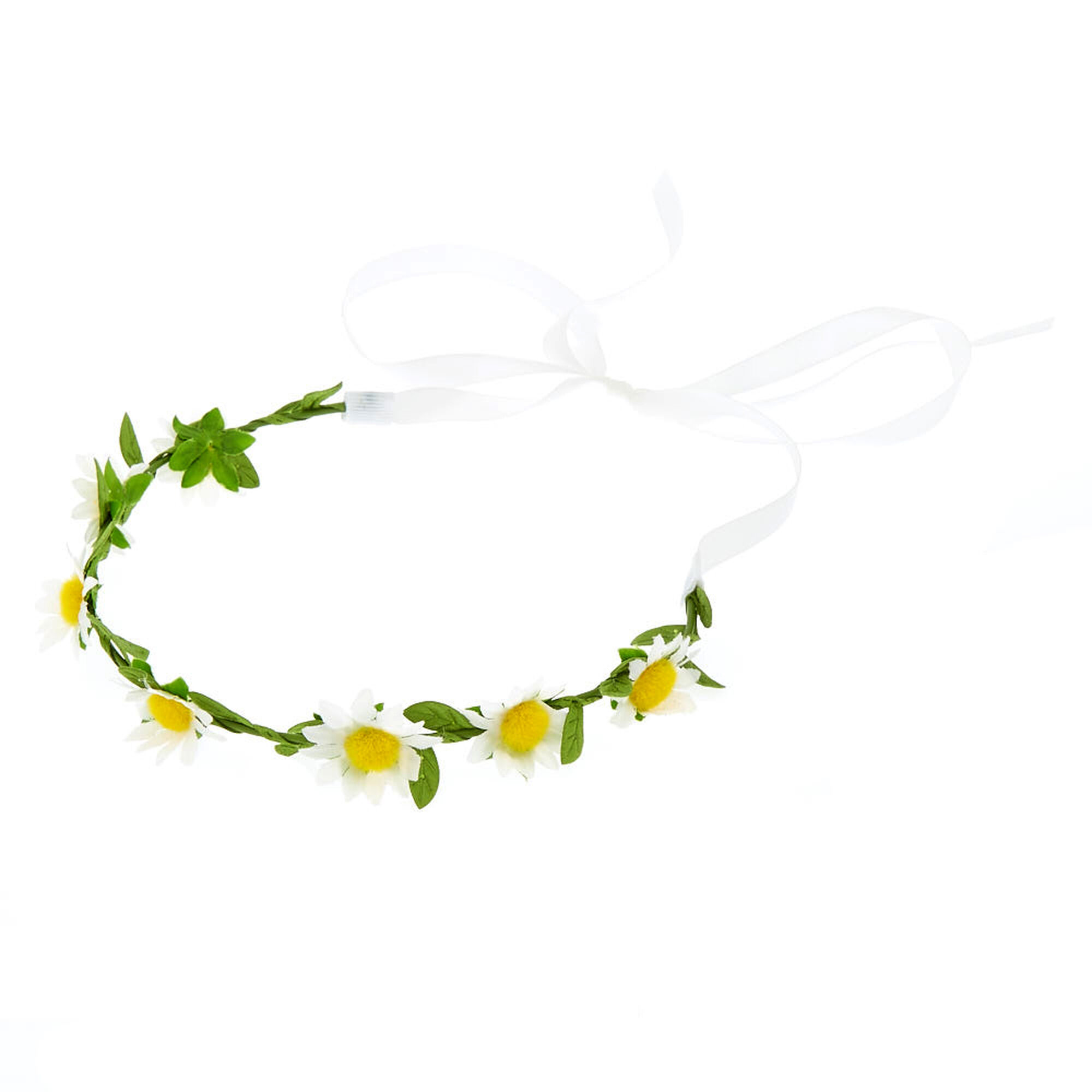 Claires Club Daisy Flower Crown Claires Us