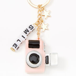 Smile For The Camera Keychain,