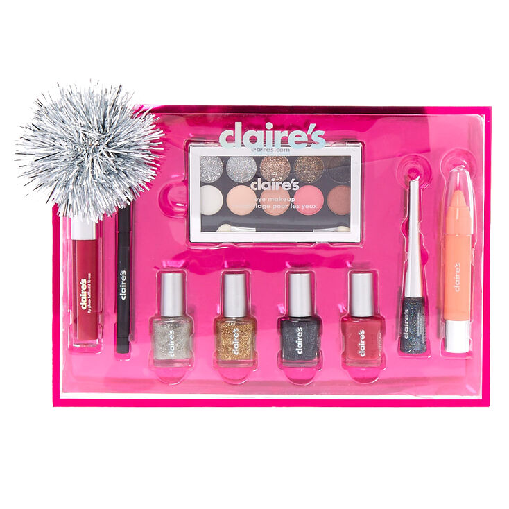 Holiday 8 Piece Makeup Gift Set | Claire's US