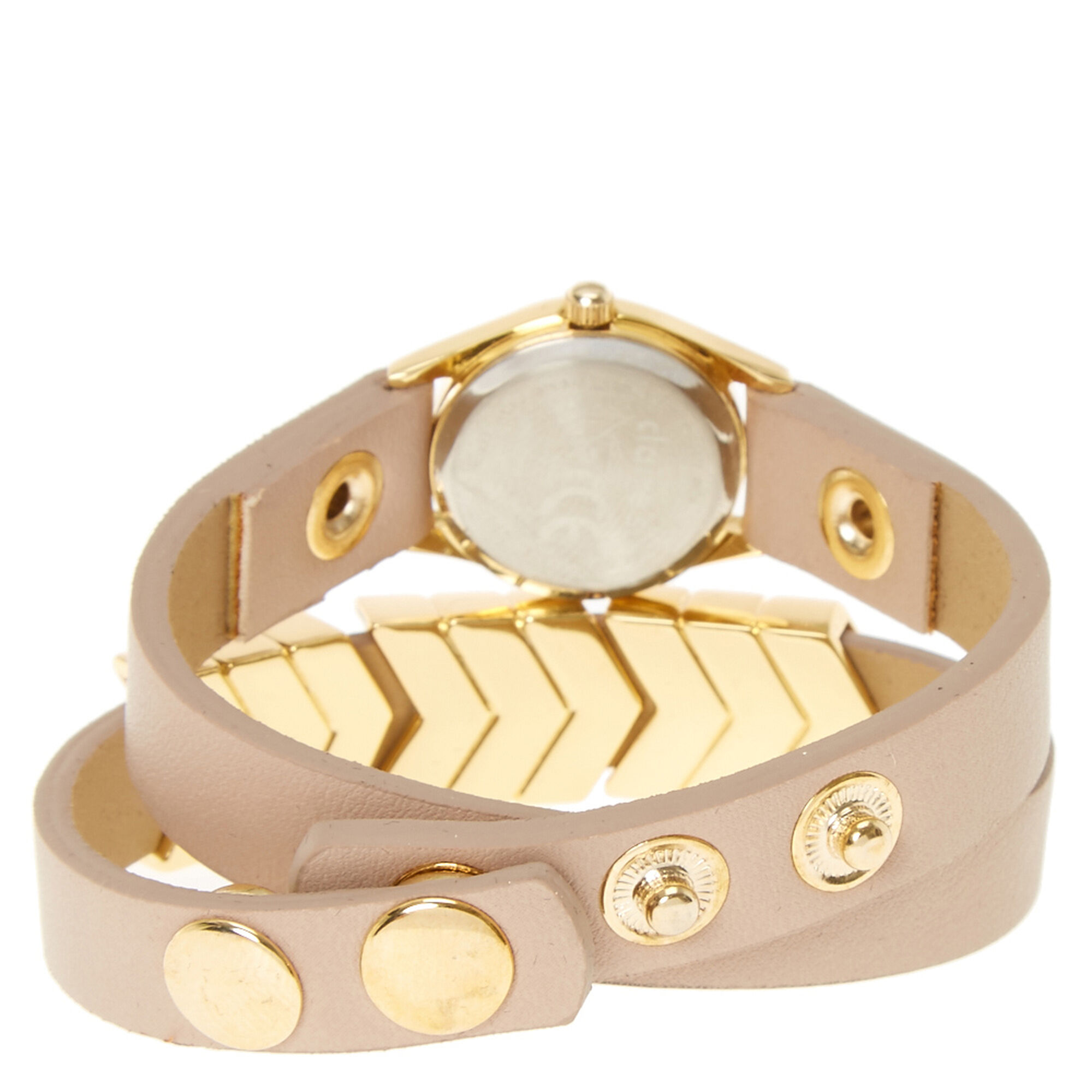 Gold Arrow Wrap Watch | Claire\'s US