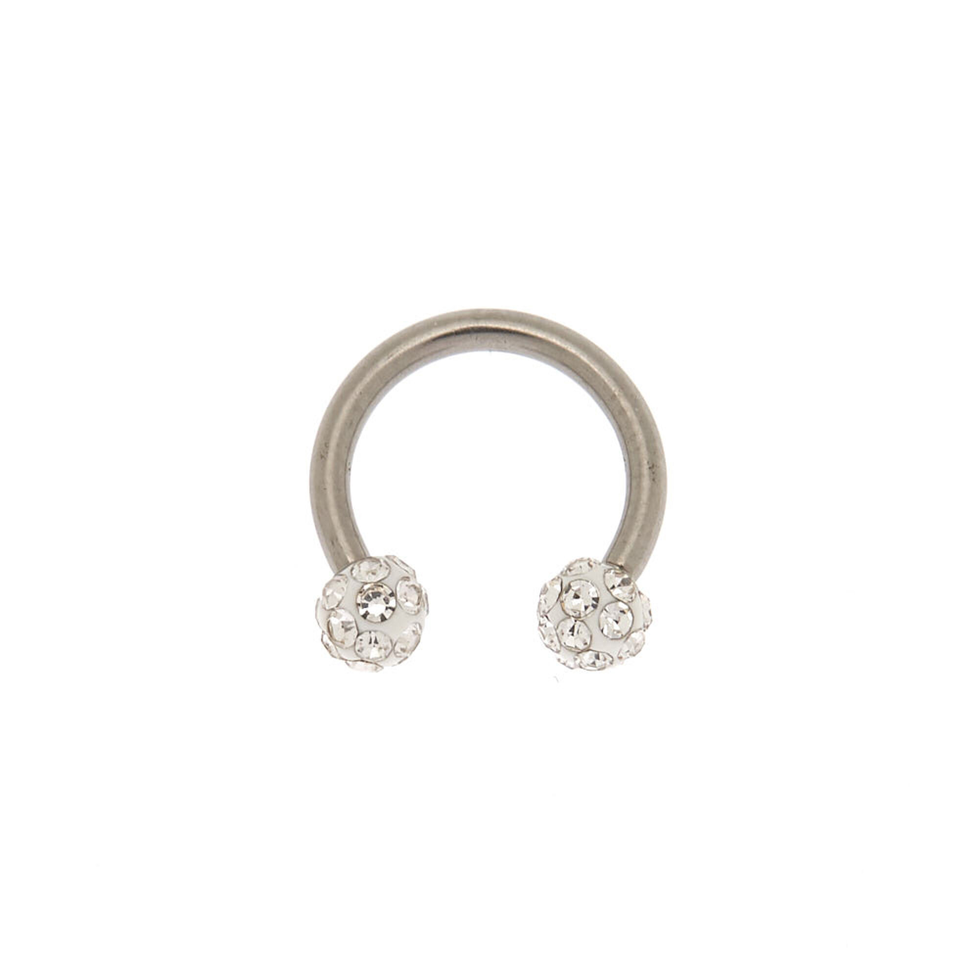 f3042cd70 Titanium 16G Fireball Cartilage Earring | Claire's US