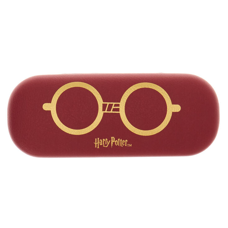 Harry Potter™ Glasses Case – Burgundy,