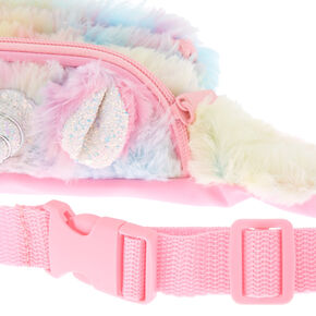 Pastel Fuzzy Unicorn Bum Bag,
