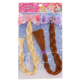 ©Disney Princess Fake Hair & Sequin Bow Hair – 2 Pack,