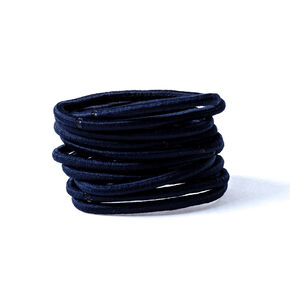 Solid Hair Bobbles - Navy, 10 Pack,