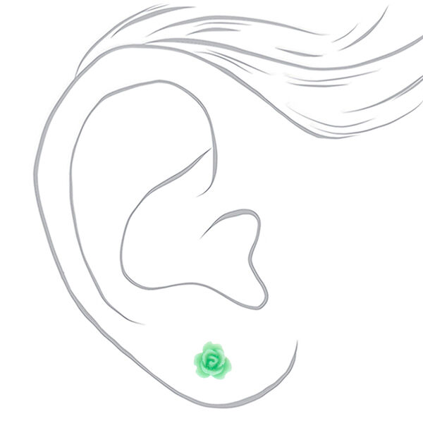 Claire's - pastel paris stud earrings - 2