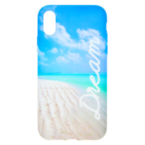 Dream Beach Phone Case - Fits iPhone XR,