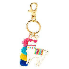 Llama Tassel Keychain,