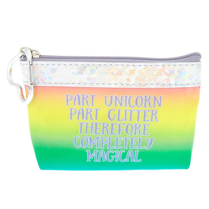 Rainbow Unicorn Coin Purse,