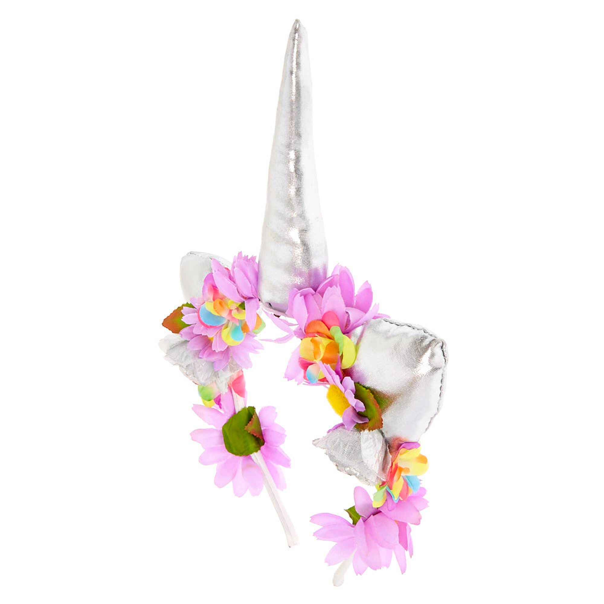 Unicorn flower crown headband claires unicorn flower crown headband izmirmasajfo