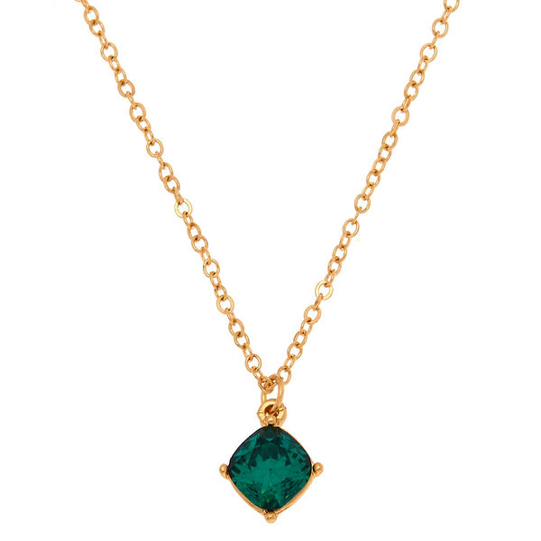 Claire's - may birth stone pendant necklace - 1