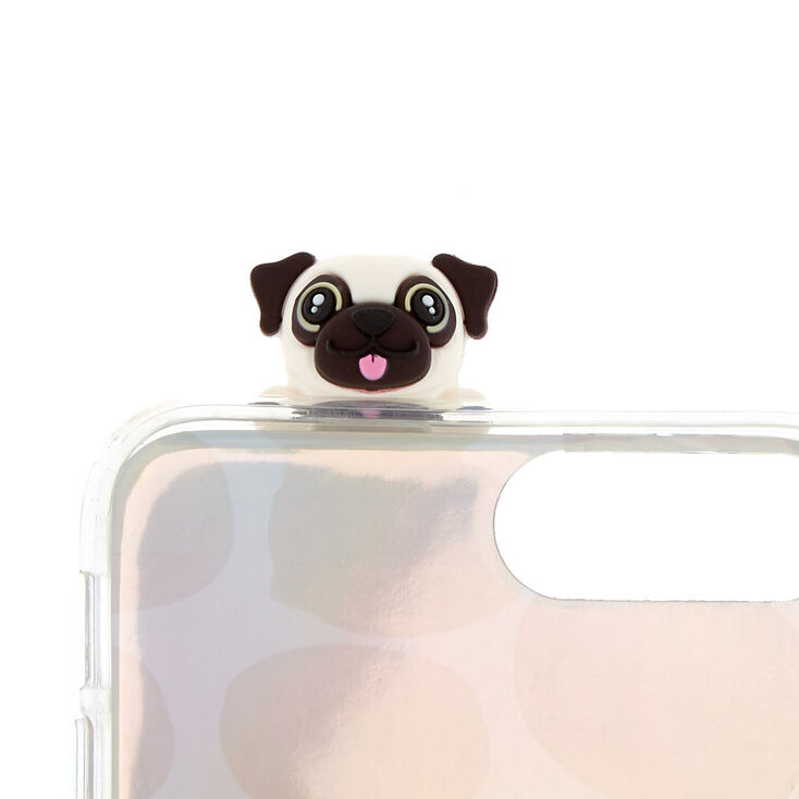 Marley Pug Pop Over Phone Case - Fits iPhone 6/7/8/SE,