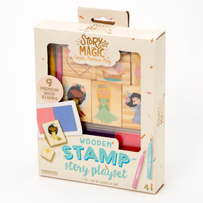 Story Magic™ Wooden Stamp Story Playset,