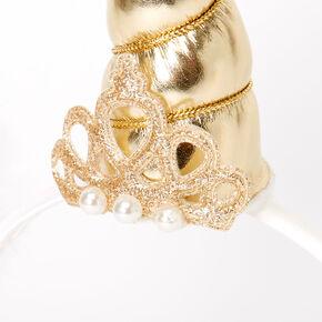 Serre-tête licorne princesse Claire'sClub - Couleur dorée,