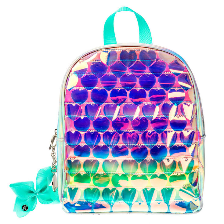 JoJo Siwa™ Mini Ombre Holographic Backpack - Silver,