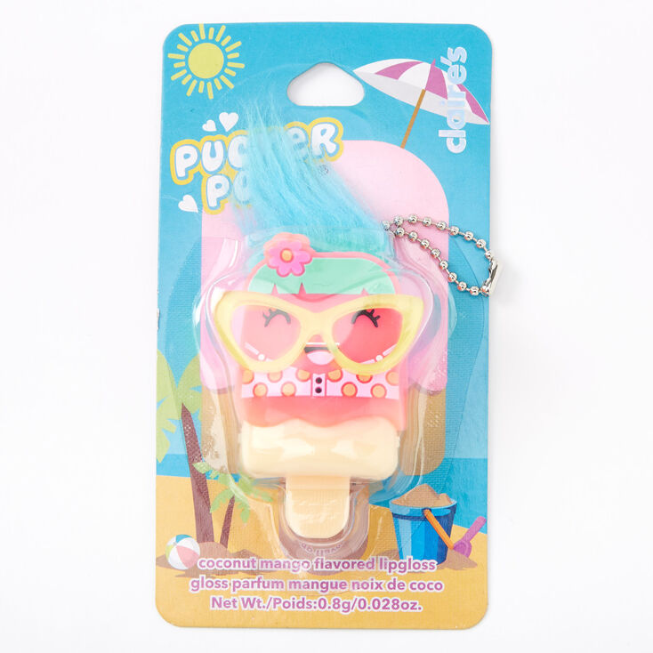 Pucker Pops Bikini Girl Lip Gloss - Coconut Mango,