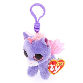 Ty Beanie Boo Athena the Pegasus Keyring Clip c49dfabbdc6