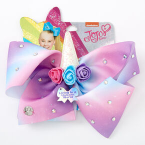 JoJo Siwa™ Large Living In A Unicorn World Signature Hair Bow,