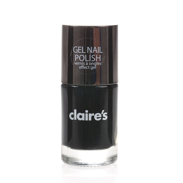 Gel-Like Nail Polish - Black,