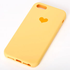 Yellow Heart Phone Case - Fits iPhone 5/5S,