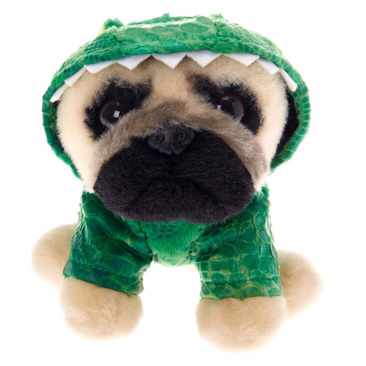 Doug The Pug Small Dino September Dougable Soft Toy Claires