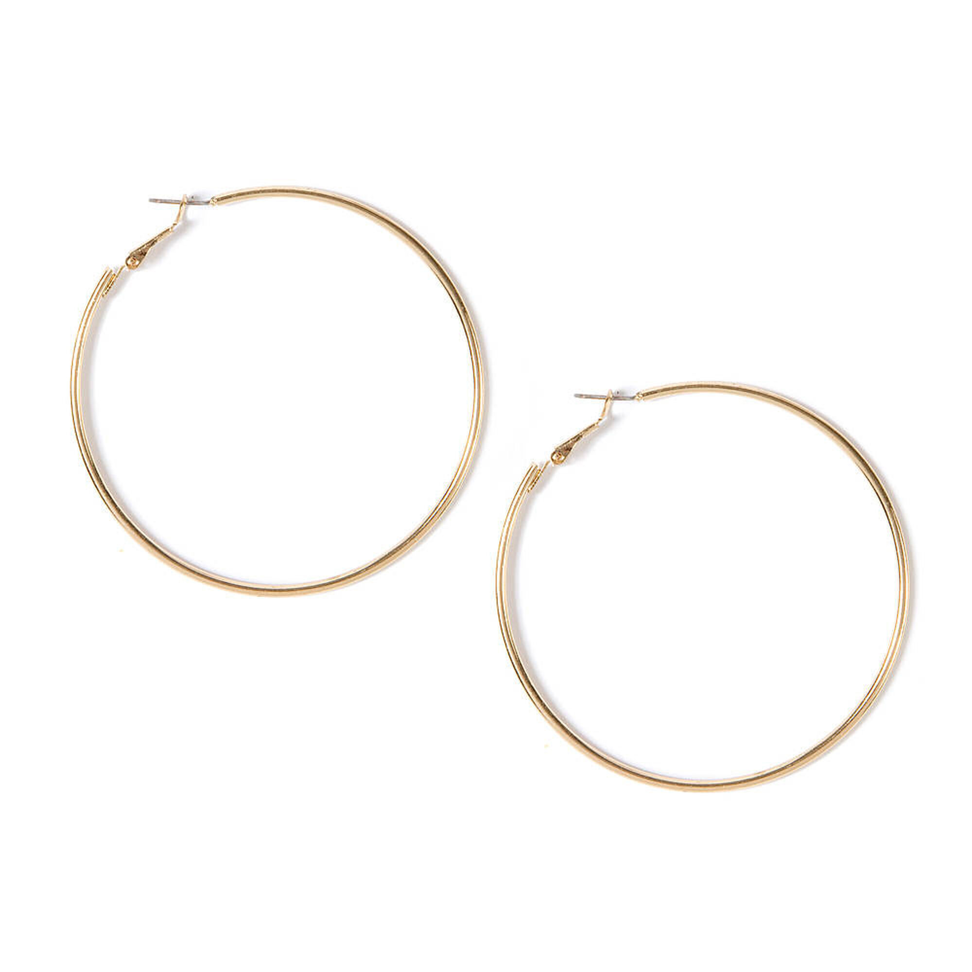 hoop earrings us simple icing gold jewellery
