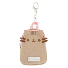 542fd7458a9 Pusheen® Mini Backpack Keychain Clip - Gray