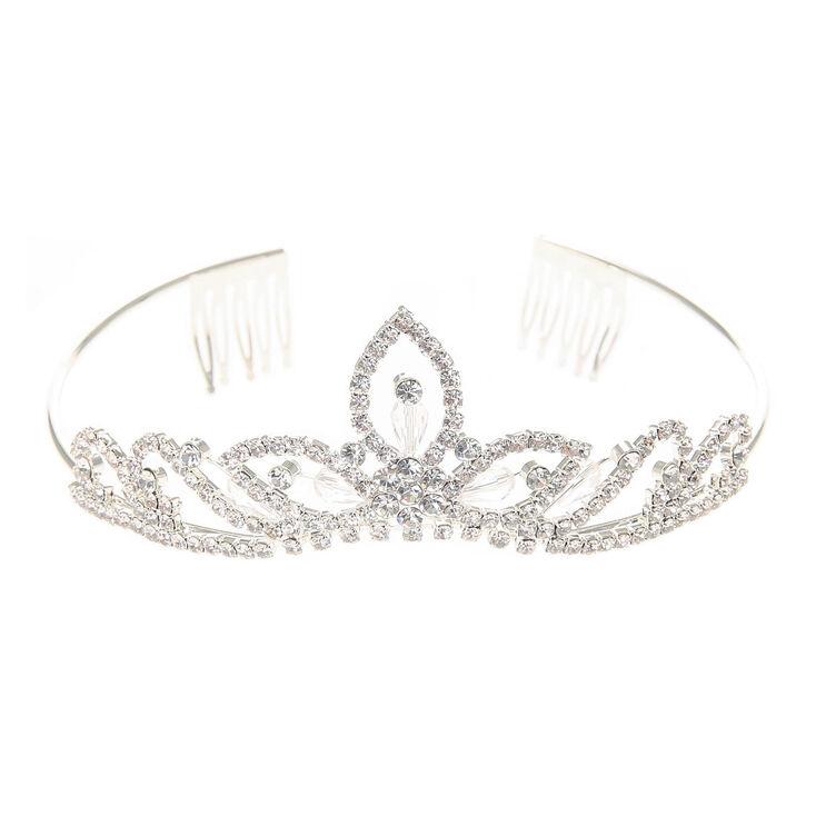 Crystal Tiara Headband,