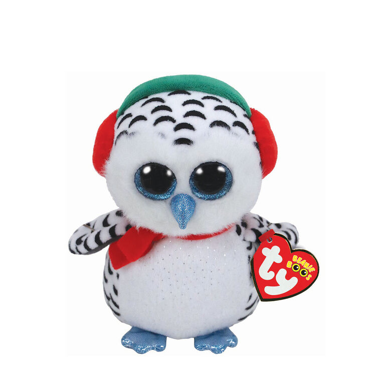 Ty Beanie Boo Small Nester The Owl Plush Toy Claire S Us