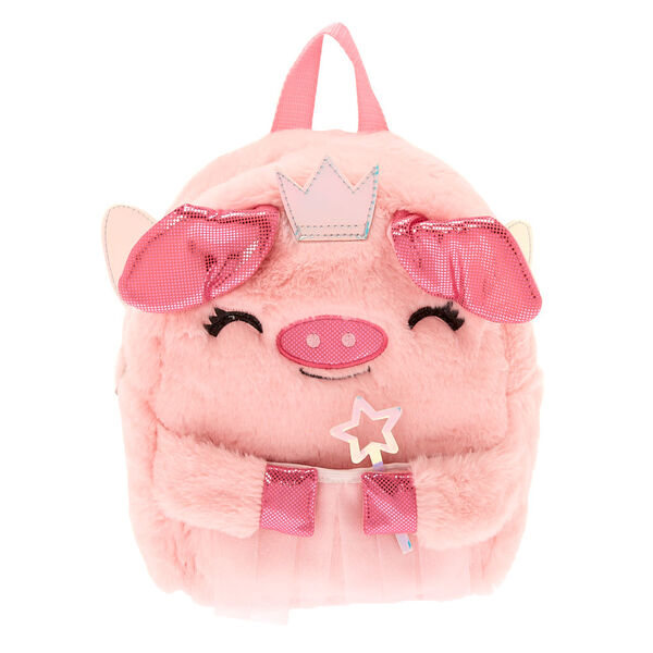 Claire's - club flying pig backpack - 1