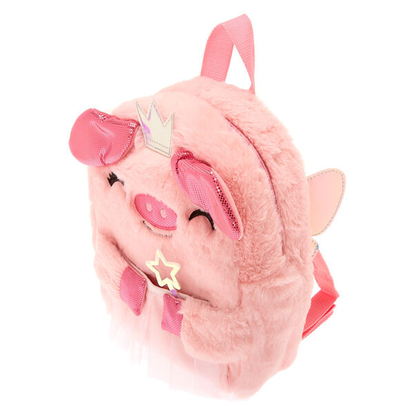 Claire's - club flying pig backpack - 2