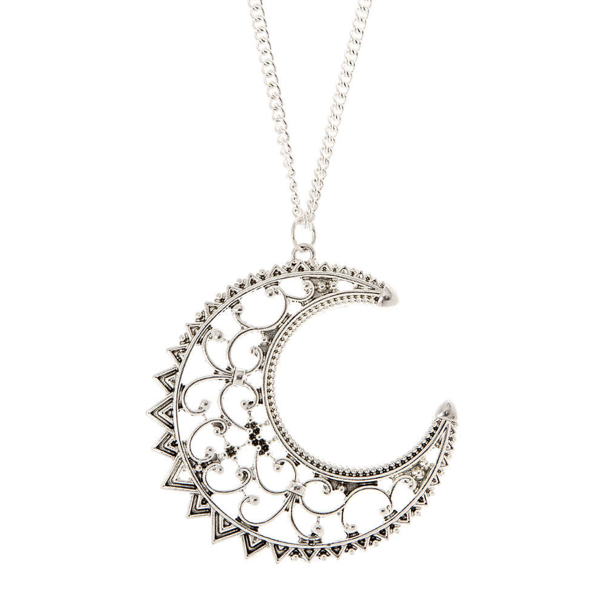 moon luluwinter muru in pendant crescent silver com
