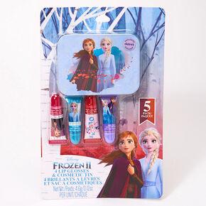 Boîte à cosmétiques et gloss La Reine des Neiges 2 ©Disney - Lot de 5,