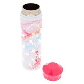 Marble Unicorn Water Bottle,