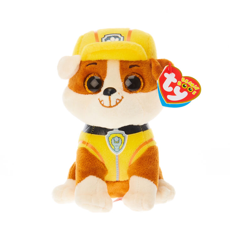 TY Beanie Boo Small Paw Patrol Rubble Soft Toy  0a7a3ef25029