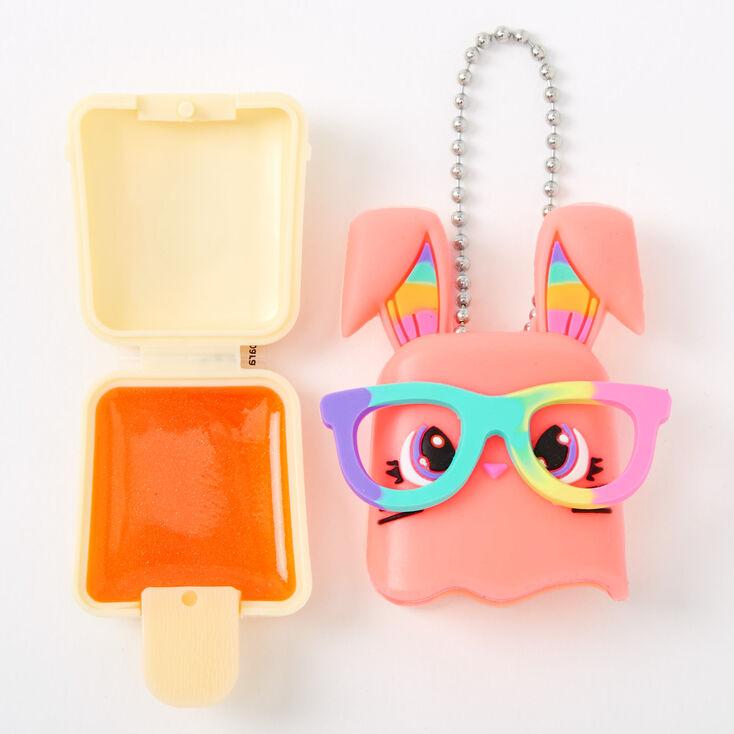 Pucker Pops Coral Bunny Lip Gloss - Mango,
