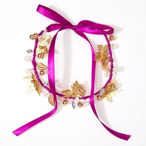 Couronne de cheveux La Reine des Neiges2 ©Disney - Violet,