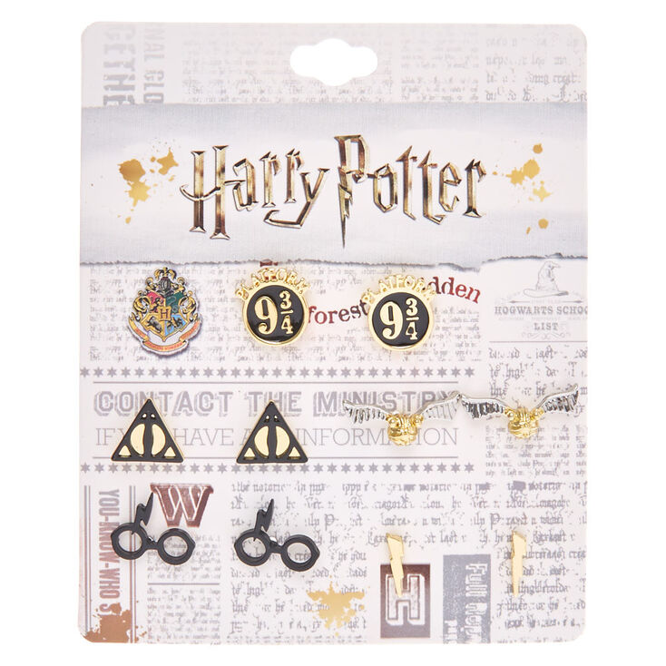 Harry Potter Assorted Stud Earring Set Claire S