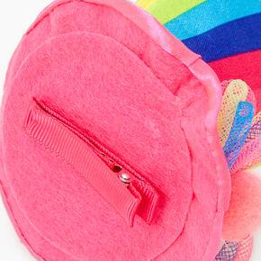 Rainbow Striped Top Hat Hair Clip,