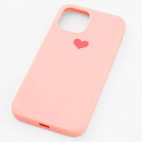 Pink Heart Phone Case - Fits iPhone 12/12 Pro,