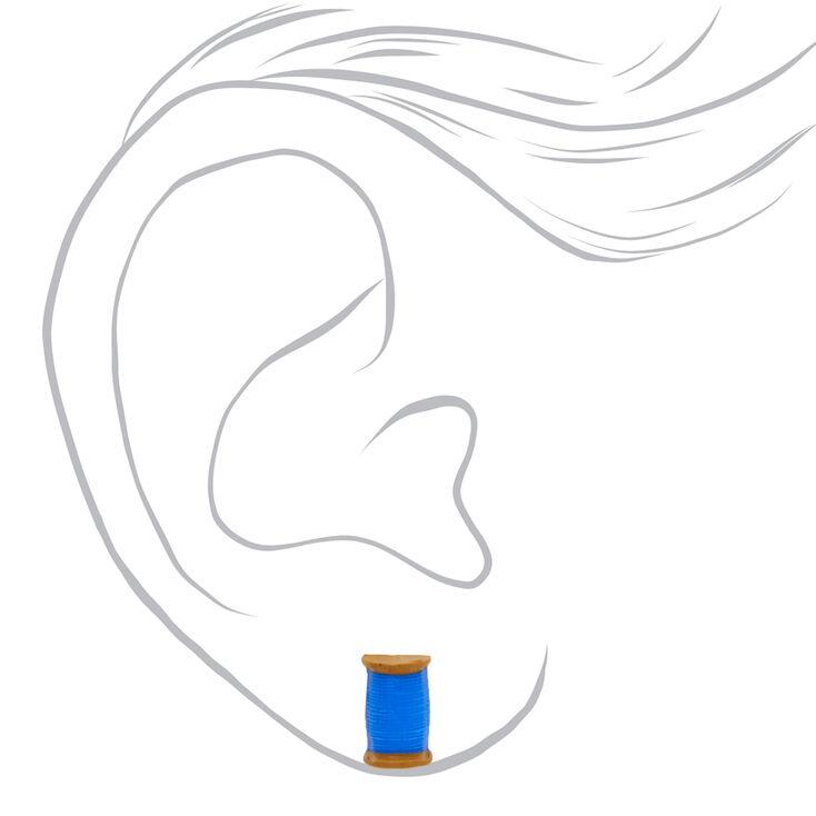 School Stud Earrings - 6 Pack,